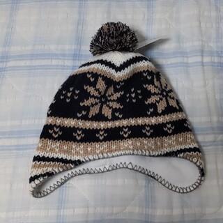ミキハウス(mikihouse)のタグ付き 未使用品 冬帽子(帽子)