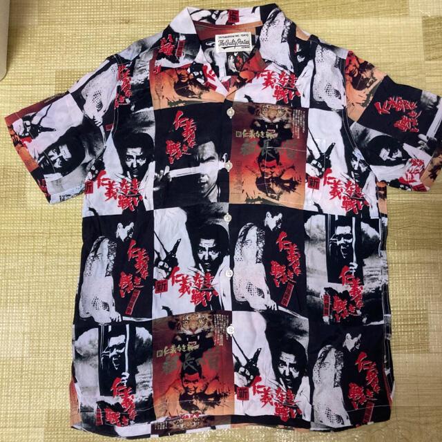 WACKO MARIA(ワコマリア)のWACKO MARIA 仁義なき戦い  HAWAIIAN SHIRT S/S メンズのトップス(シャツ)の商品写真