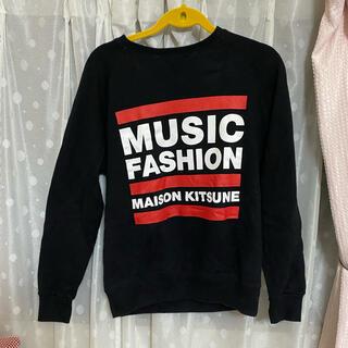 メゾンキツネ(MAISON KITSUNE')のMaison Kitsune Music fashion スウェット 香取慎吾着(スウェット)