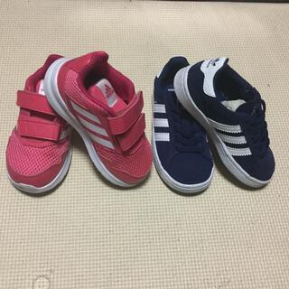 adidas - adidas キッズシューズ 2足セット 14cm/14.5cm