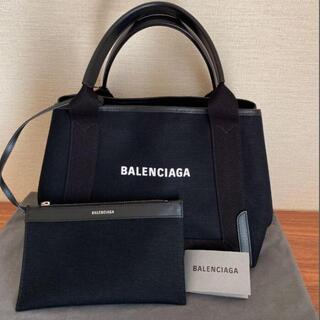 バレンシアガ(Balenciaga)のバレンシアガ ネイビーカバ トートバッグ(ハンドバッグ)