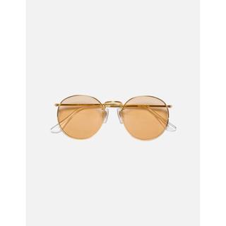 クーティー(COOTIE)のcootie Raza Metal Glasses brown(サングラス/メガネ)