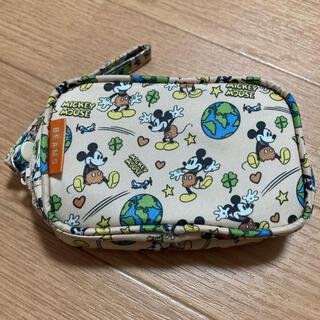 Disney - ミッキーマウス×BEAMS コラボポーチ 雑誌付録