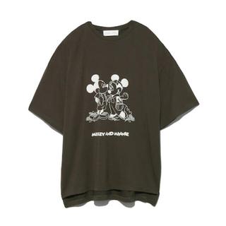 スナイデル(snidel)の新品タグ付き  【SNIDEL HOME Mickey&Minnie】Tシャツ(Tシャツ(半袖/袖なし))