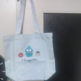 サンリオ(サンリオ)のサンリオ ハンギョドンと仲間のトートバッグ薄い水色(キャラクターグッズ)