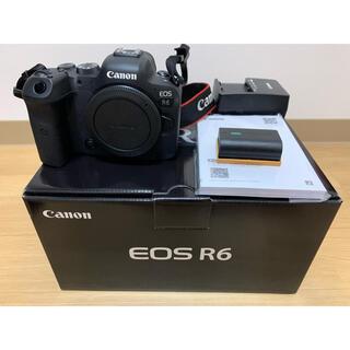 Canon - Canon EOS R6 ボディ ミラーレス