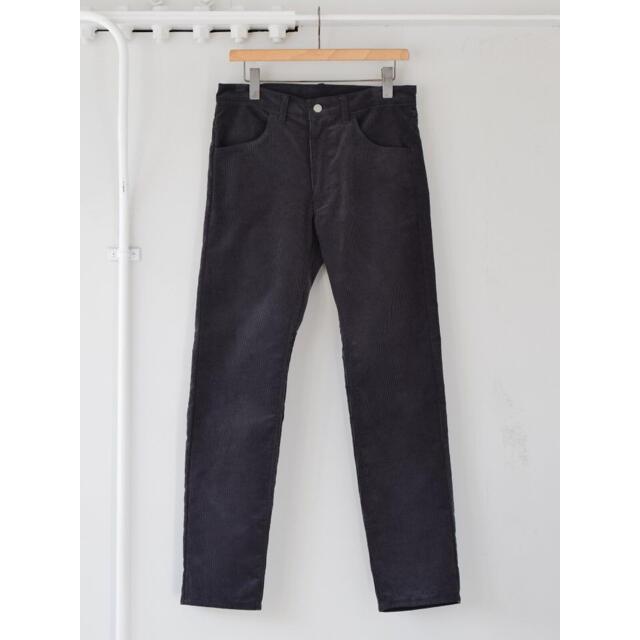 COMOLI(コモリ)の【21AW/新品】comoli コーデュロイ 5P パンツ サイズ 2 メンズのパンツ(デニム/ジーンズ)の商品写真