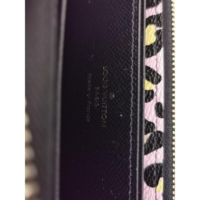LOUIS VUITTON(ルイヴィトン)のルイ・ヴィトンM80683 ワイルド・アット・ハートジッピー・ウォレット レディースのファッション小物(財布)の商品写真