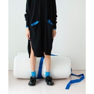ENFOLD - 2020 ENFOLD ポケットニットワンピース  定価33000円