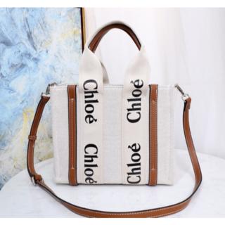 Chloe - クロエ woody スモール トートバッグ