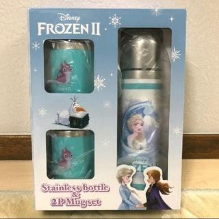 Disney - アナと雪の女王 ステンレスボトル2P マグセット Disney FROZEN 2