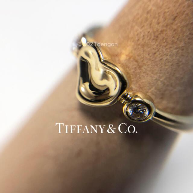 Tiffany & Co.(ティファニー)の週末セール【美品】ティファニー エルサペレッティ フルハート ダイヤ2Pリング レディースのアクセサリー(リング(指輪))の商品写真