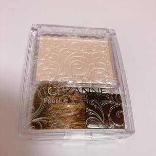 CEZANNE(セザンヌ化粧品) - 超美品 セザンヌ ハイライト パールグロウハイライト