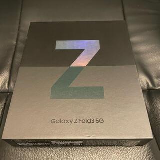 Galaxy - Galaxy Z Fold3 韓国版 256GB すぐ東京発送可能!^_^