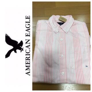 アメリカンイーグル(American Eagle)のXS◎新品正規品◎アメリカンイーグル◎シャツ◎送料込(シャツ)
