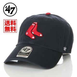ニューエラー(NEW ERA)の【新品】47 キャップ ボストン レッドソックス 帽子 紺 レディース メンズ(キャップ)