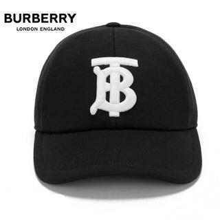 バーバリー(BURBERRY)の【2021AW】BURBERRY バーバリー BASEBALL CAP 黒(キャップ)