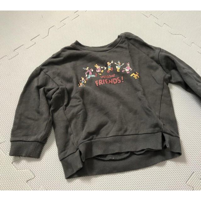 futafuta(フタフタ)のミッキーフレンズ トレーナー futafuta キッズ/ベビー/マタニティのキッズ服女の子用(90cm~)(Tシャツ/カットソー)の商品写真