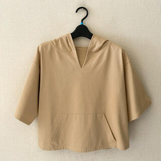 ノーリーズ♡フードプルオーバー(シャツ/ブラウス(半袖/袖なし))