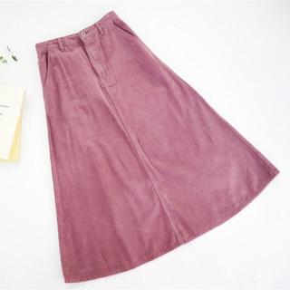 しまむら - しまむら てらさん TRWC1008Wコール88 ピンクスカート Lサイズ