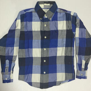 Abercrombie&Fitch - アバクロ チェックシャツ ブロックチェック メンズ USED