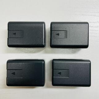 パナソニック(Panasonic)のVW-VBK180 純正 ビデオカメラバッテリー 4個セット(その他)