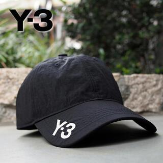 ワイスリー(Y-3)の【2021年秋冬新作】Y-3 CORDURA CAP サイドロゴ 黒(キャップ)