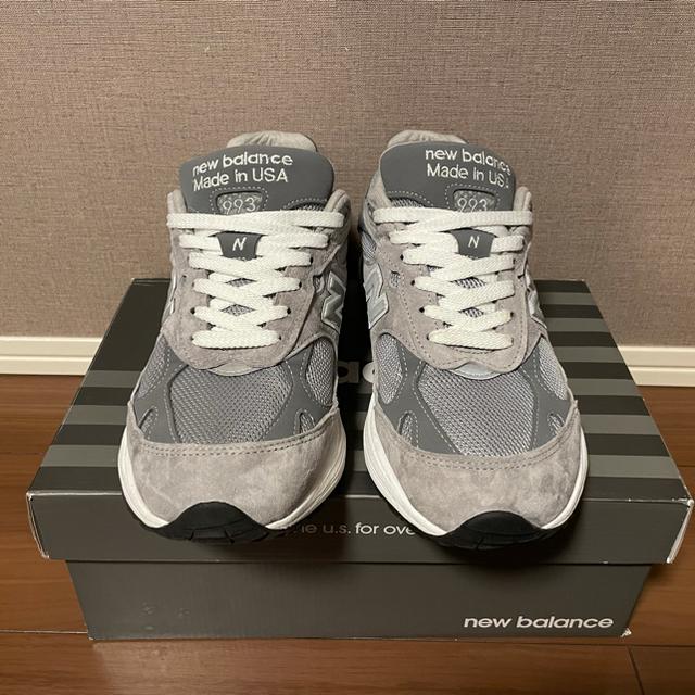 New Balance(ニューバランス)の正規品 New balance MR993GL メンズの靴/シューズ(スニーカー)の商品写真