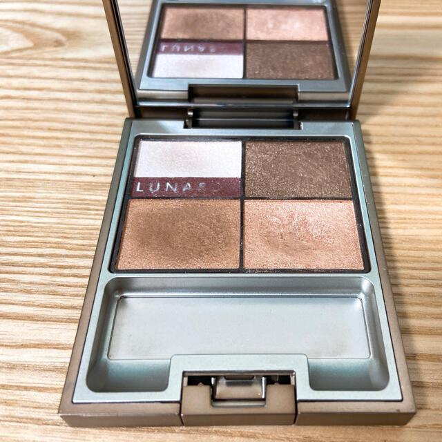 LUNASOL(ルナソル)のルナソル アイシャドウ ドライサマーアイズ EX01 ブラウン ベージュ コスメ/美容のベースメイク/化粧品(アイシャドウ)の商品写真