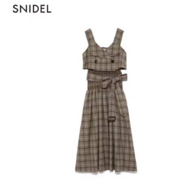 snidel(スナイデル)のsnidel スナイデル トレンチライクワンピース レディースのワンピース(ロングワンピース/マキシワンピース)の商品写真