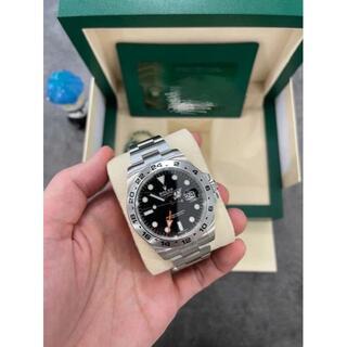ロレックス(ROLEX)のロレックス 216570 エクスプローラーII ブラック(腕時計(アナログ))