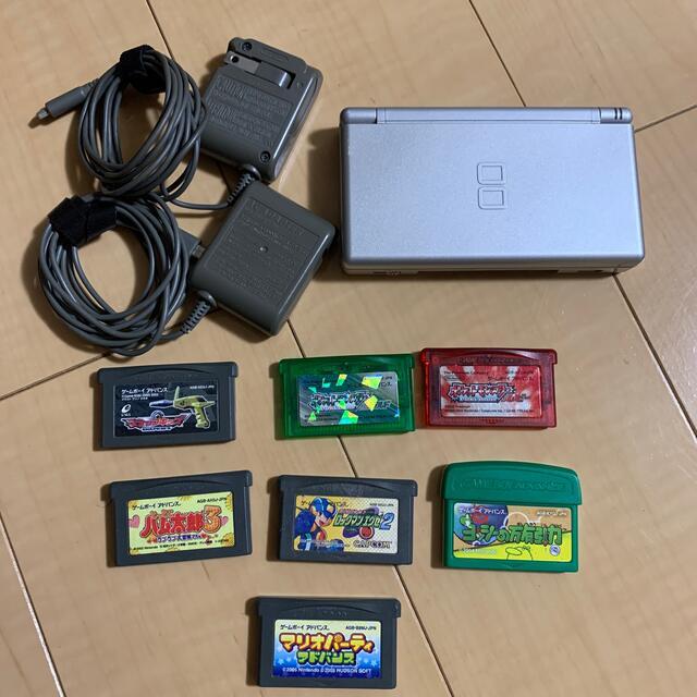 ニンテンドーDS(ニンテンドーDS)のDS lite 10点セット エンタメ/ホビーのゲームソフト/ゲーム機本体(携帯用ゲーム機本体)の商品写真