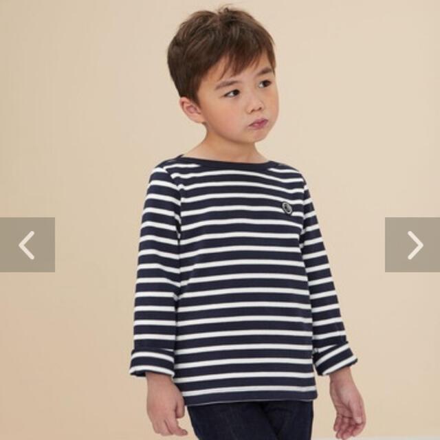 PETIT BATEAU(プチバトー)の新品未使用  プチバトー  マリニエール  プルオーバー  12ans キッズ/ベビー/マタニティのキッズ服男の子用(90cm~)(Tシャツ/カットソー)の商品写真