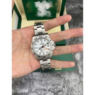 ロレックス(ROLEX)のロレックス 216570 エクスプローラーII ホワイト(腕時計(アナログ))