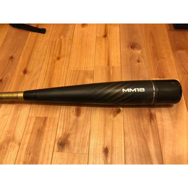 SSK(エスエスケイ)のSSK MM18 ミドルバランス バット 野球 軟式 スポーツ/アウトドアの野球(バット)の商品写真