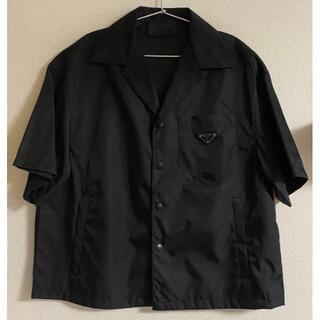 PRADA - PRADA プラダ 半袖オープンカラーシャツ