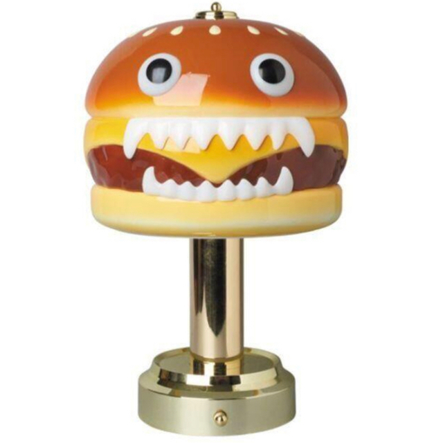 medicom toy undercover hamburger lamp エンタメ/ホビーのフィギュア(その他)の商品写真