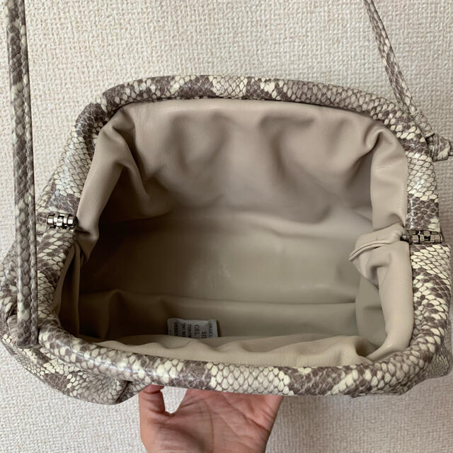 パイソン柄 2wey バッグ レディースのバッグ(ショルダーバッグ)の商品写真