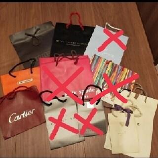 カルティエ(Cartier)のショップ袋 おまとめでも、バラでも(ショップ袋)