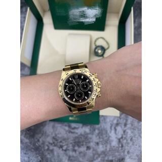 ロレックス(ROLEX)のロレックス 116508 デイトナ ブラック(腕時計(アナログ))