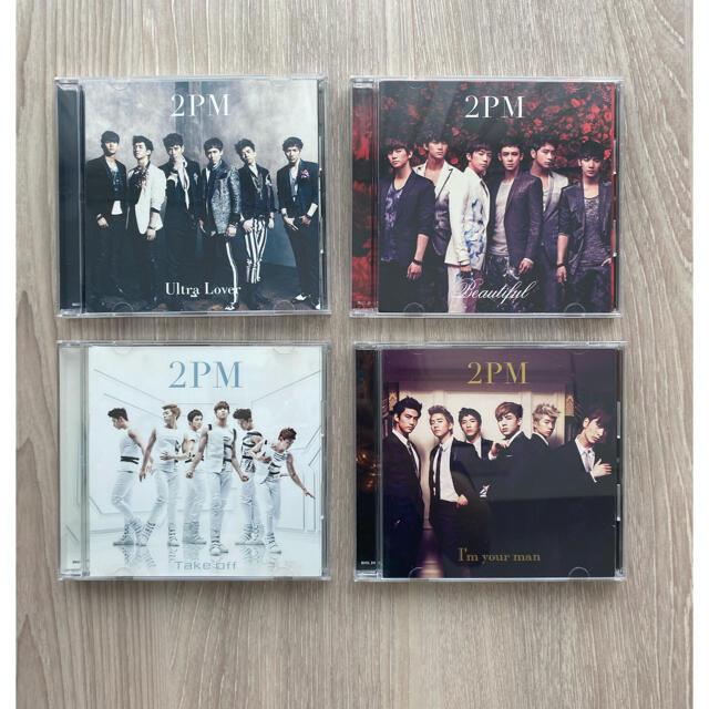 2PM 初回限定盤フォトブック付 CD×4 エンタメ/ホビーのCD(K-POP/アジア)の商品写真