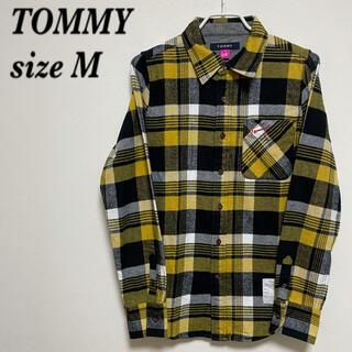 トミー(TOMMY)のTOMMY トミー シャツ 長袖シャツ チェック柄 お洒落 美品(シャツ)