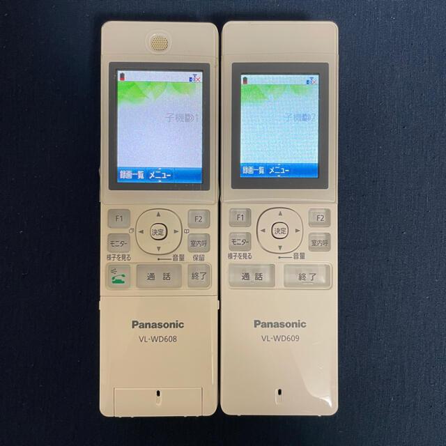 Panasonic(パナソニック)のPanasonicワイヤレスドアホン子機2台 スマホ/家電/カメラのスマホ/家電/カメラ その他(その他)の商品写真