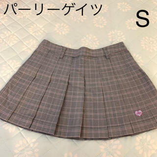 PEARLY GATES - パーリーゲイツ チェック柄スカート Sサイズ
