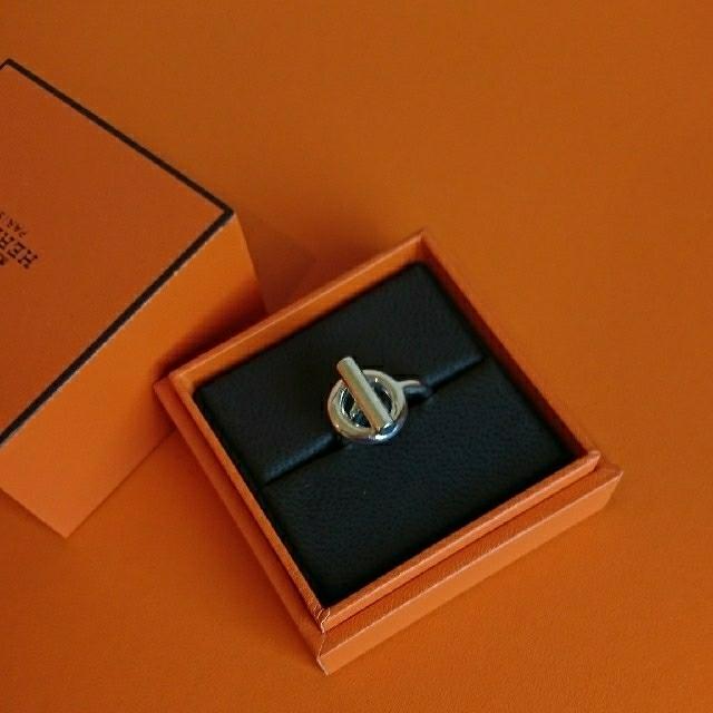 Hermes(エルメス)のエルメス リング エシャペMM サイズ51 レディースのアクセサリー(リング(指輪))の商品写真