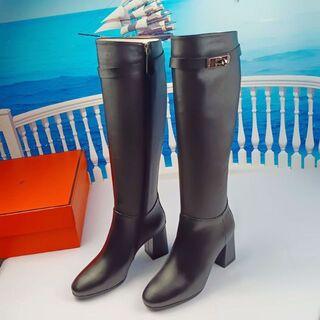 HERMES ブーツ  22-25.5cm