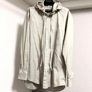 Balenciaga - BALENCIAGA フードシャツ 17aw