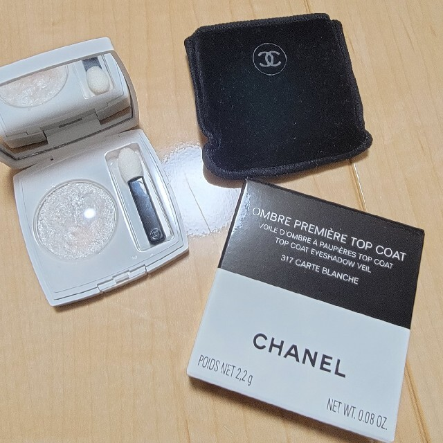 CHANEL(シャネル)のシャネル オンブルプルミエールトップコート 317 コスメ/美容のベースメイク/化粧品(アイシャドウ)の商品写真