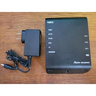 エヌイーシー(NEC)のAterm WG1200HS4(PC周辺機器)