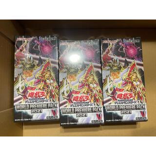 コナミ(KONAMI)のWORLD PREMIERE PACK2021 3box(Box/デッキ/パック)